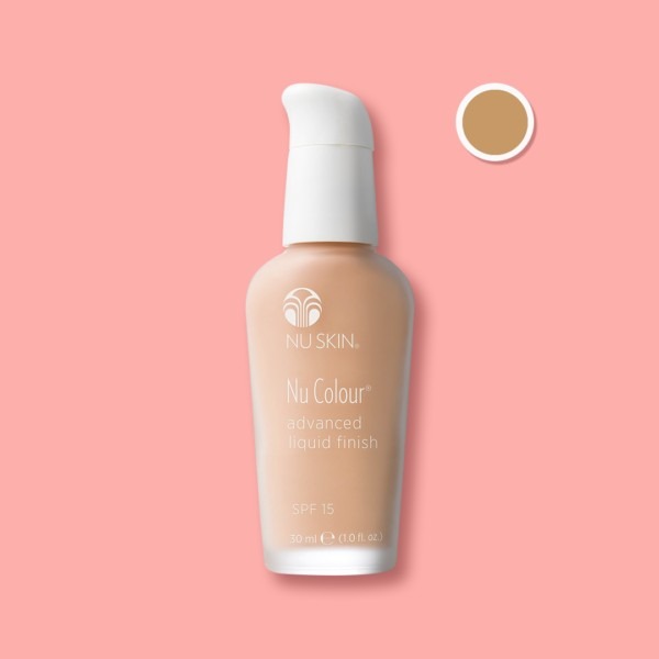 Advanced-Liquid -Finish -SPF-15 - Ochre- Beige-Quarterly-Affair
